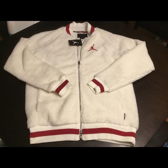 a1cf915d76cd0b Nike Air Jordan Shearling AJ1 Fleece Jacket Sz XL